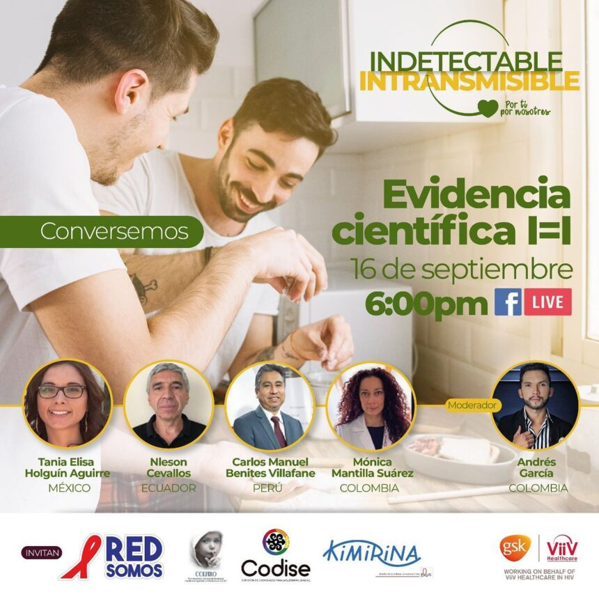 Conversemos INDETECTABLE = INTRANSMISIBLE